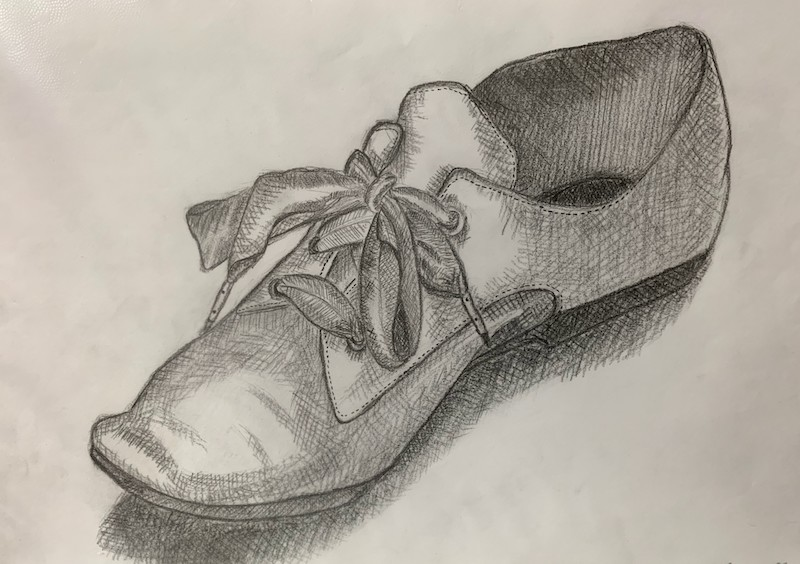 靴のスケッチ
